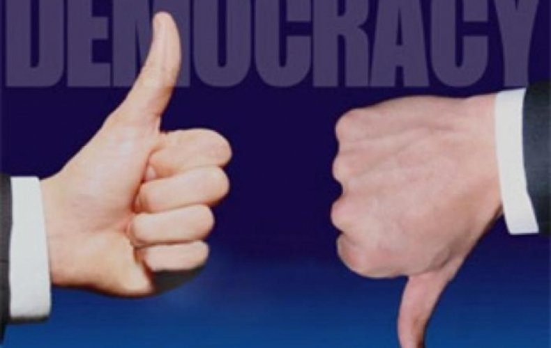 Украина оказалась среди «гибридных режимов» вмировом рейтинге демократий