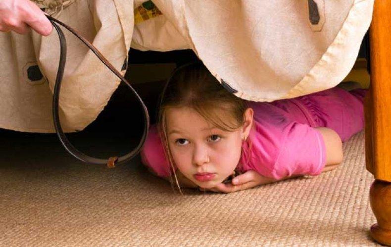 Воспитание ребенка наказание
