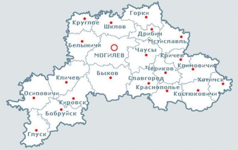 Карта месторождений подземных вод
